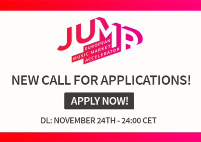 JUMP Call for applications 2020