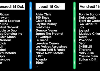Les 47 premiers artistes annoncés !